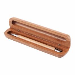 Długopis Vizela w bambusowym etui A01070
