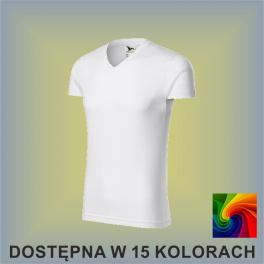 Koszulka SLIM FIT V-NECK 146 Męska 180g