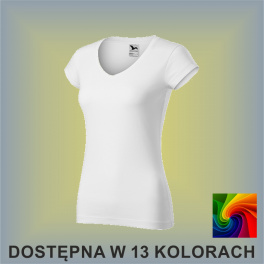 Koszulka FIT V-NECK 162 Damska 180g