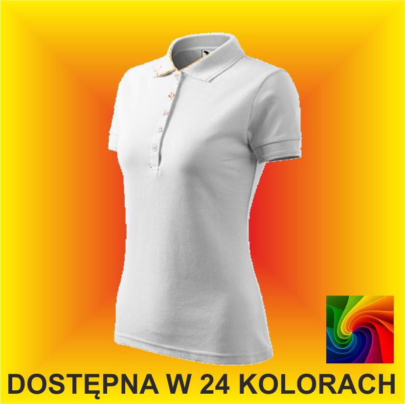 Koszulka PIQUE POLO 210 Damska 200g