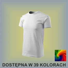 Koszulka Basic 129 Męska 160g