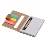 Notes 80x110/100k gładki Mini z długopisem A73667