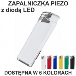 Zapalniczka piezo z diodą LED