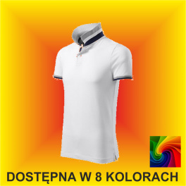 Koszulka Polo COLLAR UP 256 Męska 215g