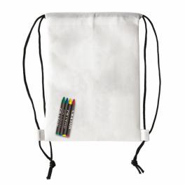 Plecak z kredkami woskowymi Crayonme A08629
