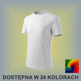 Koszulka Basic 138  Dziecięca 160g
