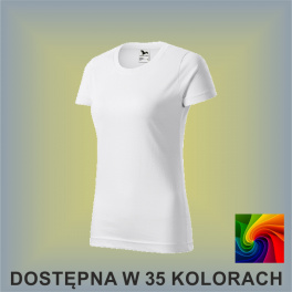 Koszulka Basic 134 Damska 160g