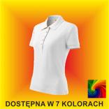 Koszulka Polo Cotton Heavy 216 Damska 220G
