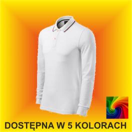 Koszulka CONTRAST STRIPE LS 258 Męska 200G