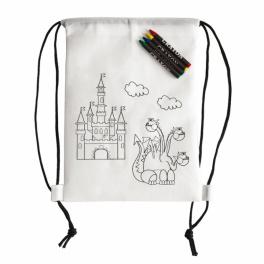 Plecak + kredki woskowe White Line A08690