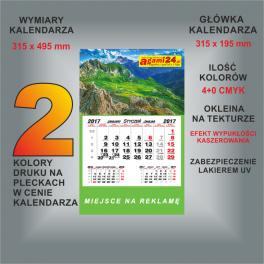 Kalendarz jednodzielny indywidualny