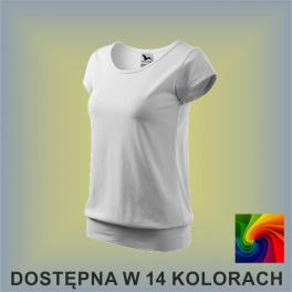 Koszulka City 120 Damska 150g
