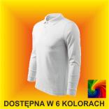 Koszulka Polo Single J. LS 211 Męska 180G