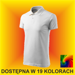 Koszulka Polo Single J. 202 Męska 180g